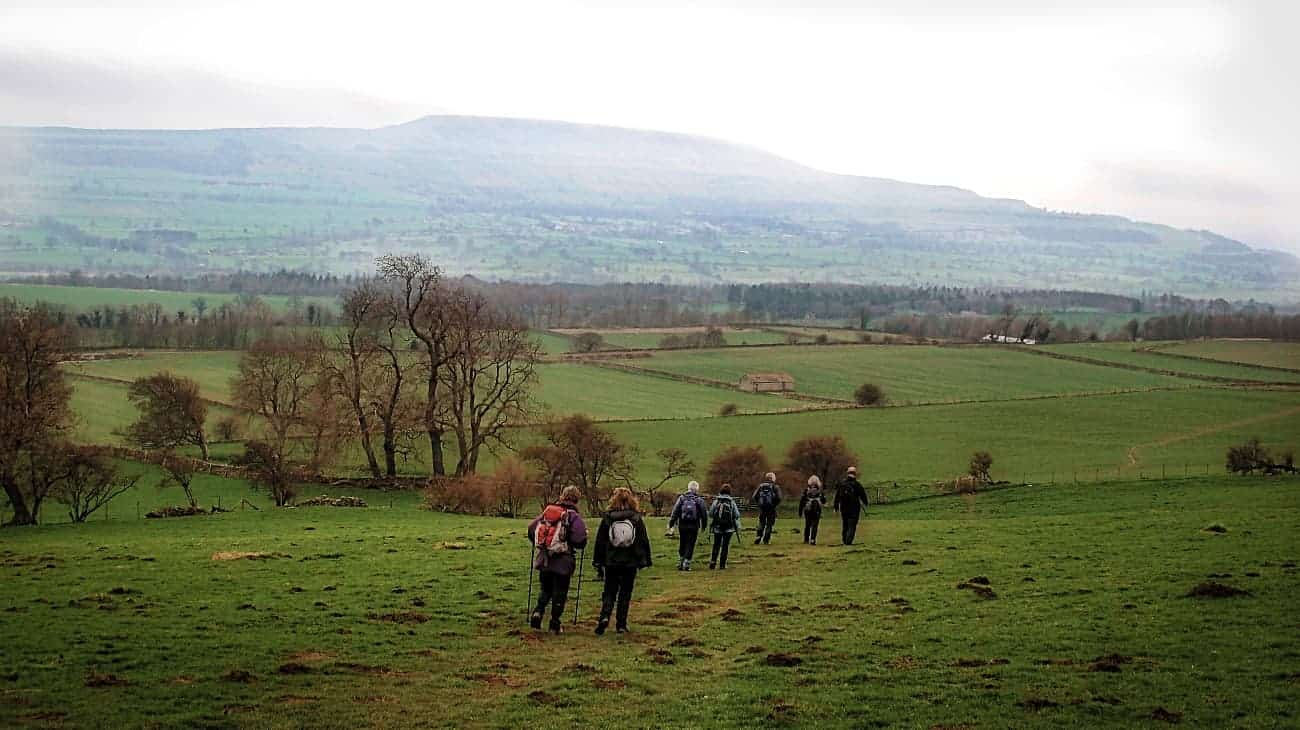 Walking Through Wensleydale